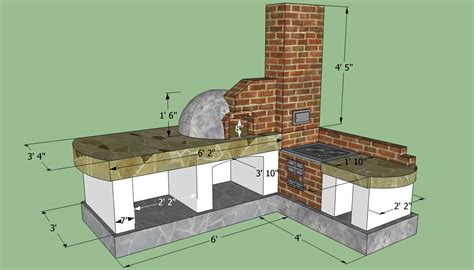 build  outdoor kitchen construction  diy