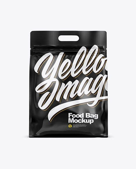 Layered psd through smart object insertion license: Free PSD Mockup Glossy Stand-up Food Bag Mockup Object ...