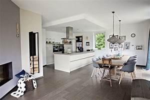 Wohn Esszimmer Küche : k che essen h o u s e wohnzimmer mit offener k che ~ Watch28wear.com Haus und Dekorationen