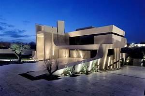 eclairage exterieur maison contemporaine With eclairage exterieur maison contemporaine