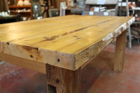 Handmade Large Harvest Table by Red Springs Lumber