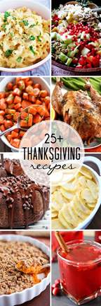 25 thanksgiving recipes that can bake
