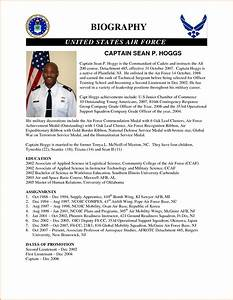personal bio template With military biography template