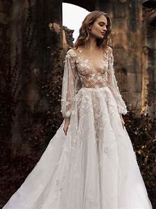 10 whimsical wedding gowns with sleeves With whimsical wedding dress