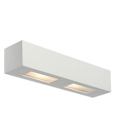 lighting out of the box plaster wall light