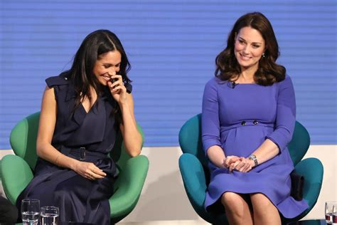 Kate Middleton Sits In More 'Ladylike' Way Than Meghan