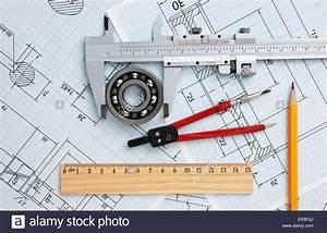 Mechanical Drawing Tools Bearing Stock Photos  U0026 Mechanical
