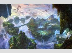 Visit the fascinating fantasy worlds of Li Shuxing A