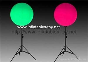 Outdoor Lighted Balloon with Stand,LED Stand Balloon