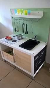 Kinder Küche Ikea : esther k hat eine wundersch ne diy idee f r die kinderk che gehabt und das 2er ikea kallax ~ Markanthonyermac.com Haus und Dekorationen