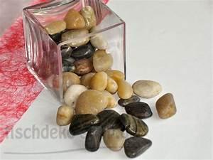 Tischdeko Shop De : deko fluss kiesel farblich sortiert bei tischdeko ~ Watch28wear.com Haus und Dekorationen