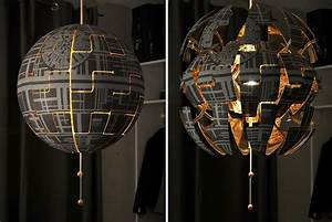 Lampe Etoile Ikea : une lampe ikea transform e en toile de la mort de star wars ~ Teatrodelosmanantiales.com Idées de Décoration