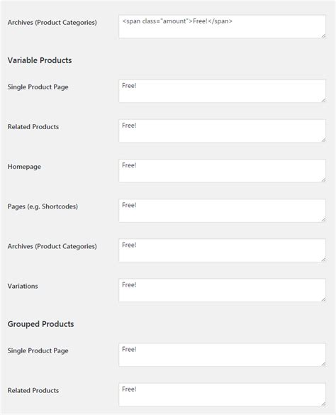 change template page simple product woocommerce woocommerce free price labels booster for woocommerce