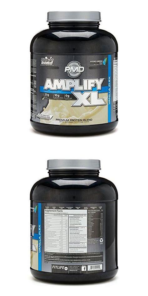 pmd amplify xl protein vanilla flex  lbs protein