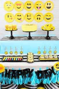 Emoji Birthday Party Ideas