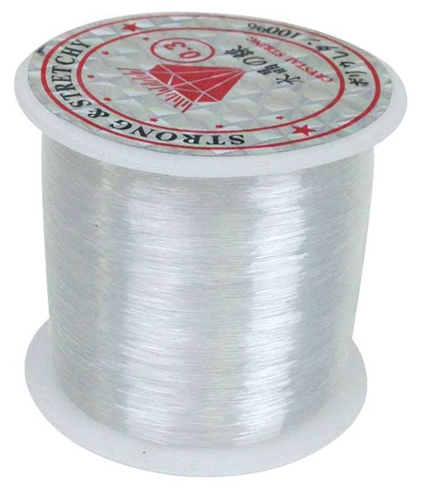 Clear Fishing Line For Hanging Decorations 82yds