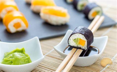 sushis sucr 233 s en trompe l œil makis exotiques mangue sushis aux agrumes yuzu