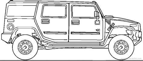 Blueprints> Cars > Hummer > Hummer