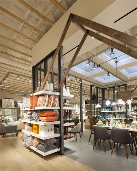 home design store 187 west elm home furnishings store by mbh architects