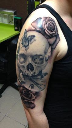 skull rose pocket  tattoo drawing ink pinterest  pocket  tattoos