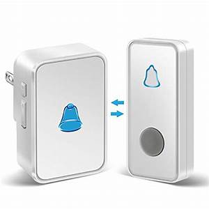 Wifi Doorbell Chime Us Plug Indoor Bells  U0026 Chimes For Home