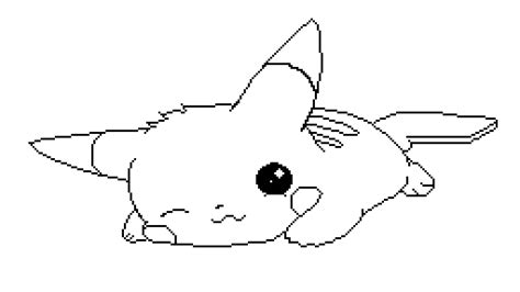 pikachu drawing outline drawing easy