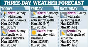UK Weather: Britain set to freeze in 'Arctic plunge ...