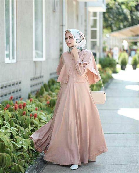model baju gamis terbaru lebaran gambar islami