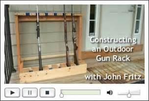 free plans on building a gun rack 171 floor plans