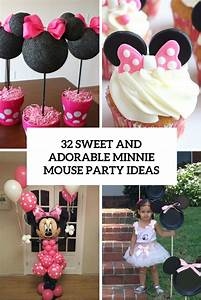 32 Sweet And Adorable Minnie Mouse Party Ideas - Shelterness