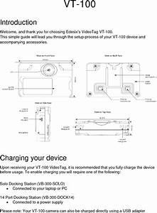 Edesix Vt100 Video Tag User Manual