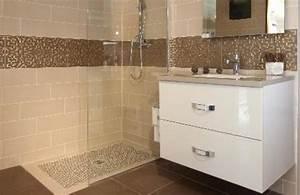 Salle De Bain à L Italienne : douche l 39 italienne nos r alisations salle de bain nord ~ Dailycaller-alerts.com Idées de Décoration