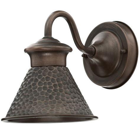 home decorators collection harbor 1 light copper bronze