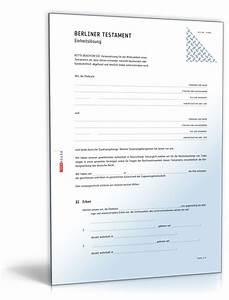 Berliner Testament Beispiel : beliebte downloads testamente dokumente vorlagen ~ Orissabook.com Haus und Dekorationen