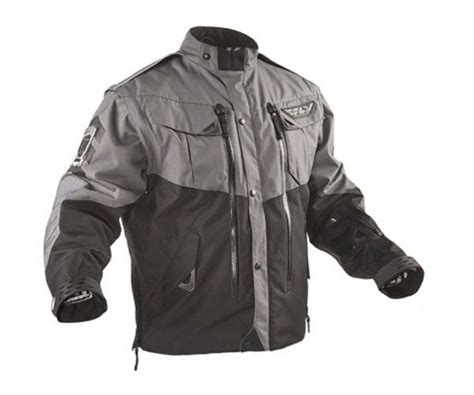 Fly Racing Patrol Riding Jacket Black/grey