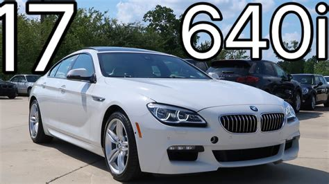 2017 Bmw 6 Series 640i Gran Coupe Review, Start Up