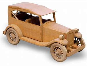 "The 1929 Ford 'Phaeton' Woodworking Plan (Approx 14"")"