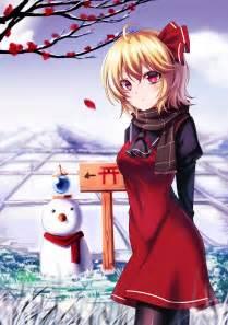 Short Hair Blonde Red Eyes Anime Anime Girls Inter