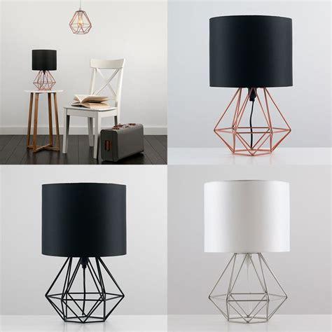 bedroom table lights 25 best bedside lamp ideas on pinterest bedroom 10700 | 9a79bea70fcb5d2f38b2558c7d833ea8 geometric lounge diy geometric lamp