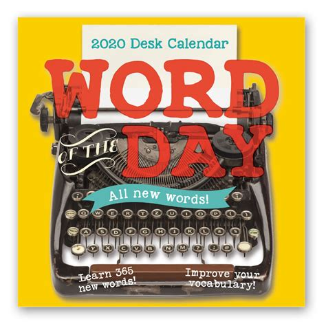 desk calendar word day leap year publishing