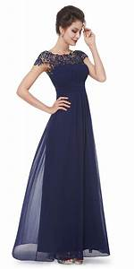 lace cap sleeve evening gown navy blue navy and gowns With what shoes to wear with navy dress for wedding
