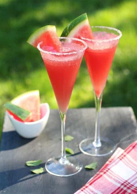 sparkling watermelon cocktail vindulge