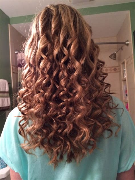 my hair yesterday tight spiral curls cute hair curls