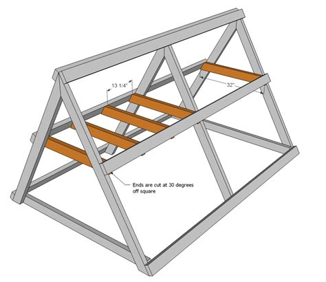 a frame designs ana white a frame chicken coop diy projects