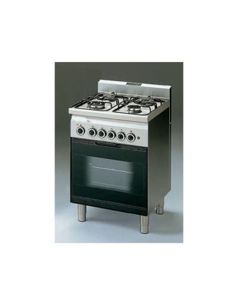 Cucina A Gas 4 Fuochi Con Forno Elettrico A Convenzione Cm