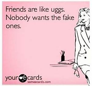 Fake friend >:/ yet I got fake friends... | E-CARDS :D ...