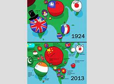 Asia Then and Now polandball