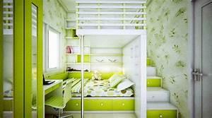 Kleines Kinderzimmer Ideen : kinderzimmer gr n 40 gestaltungsideen f r kinderzimmer freshouse ~ Orissabook.com Haus und Dekorationen