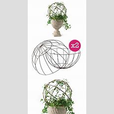 Inspiration  Topiary Form  {diy Charm} Wire Metal