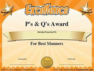 free funny award certificates templates sample With silly certificates awards templates